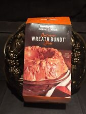 Nordic Ware AUTUMN WREATH BUNDT Pan- made in the USA.- NEW PAN- SUR LA TABLE