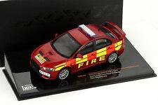 Mitsubishi Lancer Evo X Baujahr 2011 Feuerwehr rot 1:43 Ixo