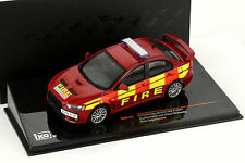 Mitsubishi Lancer Evo X Year 2011 Fire red 1:43 Ixo