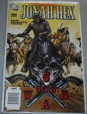 Jonah Hex Comic #46 Oct '09 6 Gun War Gray Palmiotti Cucuina NEW SEALED