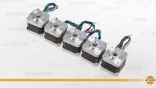 ACT Motor GmbH 5PCS Nema17  17HS4417 Schrittmotor 1.7A 40mm 4000g.cm 3D Drucker