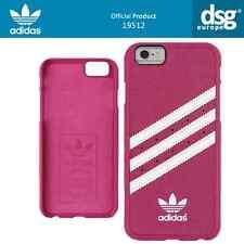 Oficial Adidas Vintage moldeada cubierta estuche para iPhone 6-Rosa Blanco Nuevo Sellado