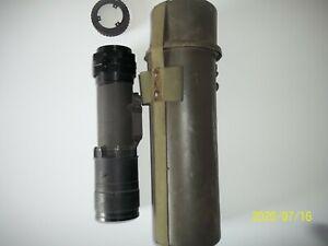 AN/PVS-3 Housing-Includes Original Military Case & Eyepiece Mount-RARE/SCARCE