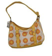 NWT Sketchers Floral Handbag Yellow Orange