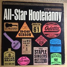 V/A-All-Star Hootenanny Vol. 2 1965 Riverside Stereo-VG+/M-UNPLAYED FOLK-BLUES