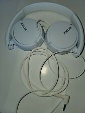 Sony MDR-ZX110 ZX Series Headphones - Collapsible - White
