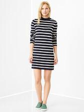 Gap M Nwt Navy & White Striped Sweater Dress 8 10 M