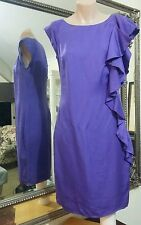 David Lawrence Dress. Sz6. Silky soft tencel viscose. Slimming and elegant. Vgc