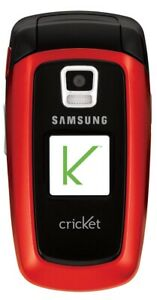 Samsung SCH A870 - (cricket) FLIP Cellular Phone