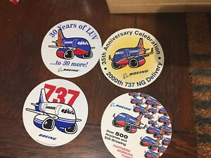 SOUTHWEST AIRLINES SOUTH WEST SWA OVAL AIRPLANE LOGO STICKER / DECAL And More