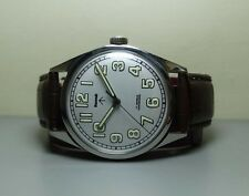 VINTAGE HMT MILITARY WINDING 17 JEWELS GB26084 WRIST WATCH OLD USED G989 ANTIQUE