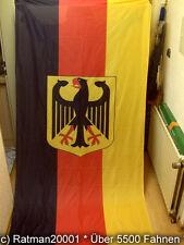 Fahnen Flagge Deutschland mit Holsaumen 90 x 150 cm WM