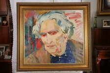 Armenian Painting - Portrait of Martiros Saryan - by Alexander Grigoryan