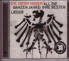 """DIE TOTEN HOSEN """"All die ganzen Jahre ...."""" 22 Track CD"""