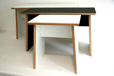 Birch Plywood and Laminate stool and Bench, by Stott and Shepherd.