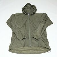 Patagonia Military Men's Green Lightweight Ripstop Rain Jacket Size M