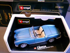 Lancia Aurelia B 24 Spider in blau bleu blu blue metallic Bburago in 1:18 boxed!