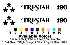 MasterCraft TriStar 190 Boat Decal