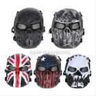 Outdoor Airsoft Paintball Tactical Full Face Protection Skull Mask for Safety
