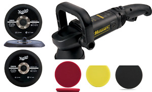 Meguiar's MT300 Professional Dual Action Power Polisher or Plate or Foams or Kit
