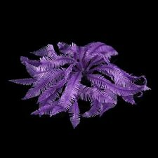 Purple Artificial Fake Coral for Fish Tank Decoration Ornament T1