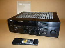 YAMAHA Surround Sound PRO-LOGIC AMPLIFICATORE AV AMP rx-v590rds Nero