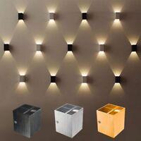 Modern 3W LED COB Wall Light Up Down Spot Lighting Wall Lamp Sconce Home Fixture