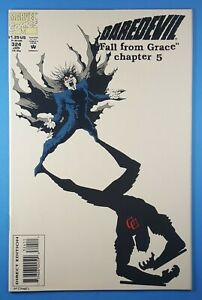 """Daredevil #324 Marvel Comics 1994 """"Fall From Grace, Part Five"""""""
