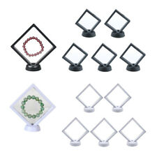 10pack Jewelry Display Frame Rack w/ Stands for Necklaces Coins Medallions