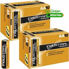 20 x Duracell AA Industrial Alkaline Batteries 1.5V LR6 MN1500 Procell 2023 exp.