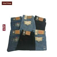 LEVIS LEVI 501 MENS BRAND NEW WITH TAGS DENIM JEANS STRAIGHT W30 W32 W33 W34 W36
