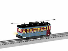 LIONEL #1923130 POLAR EXPRESS TROLLEY WITH ANNOUNCEMENT TRACK
