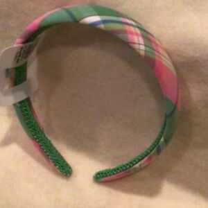 The Children's Place Plaid Headband for Girls - Multicolor - New/NWT