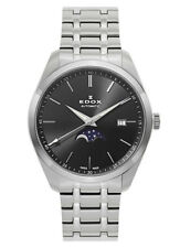 EDOX Les Vauberts Mondphase Datum Automatik 80505 3M NIN