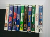 10 Disney classics Live Action LOT -VHS Tapes Cool Runnings Mighty Ducks Flubber