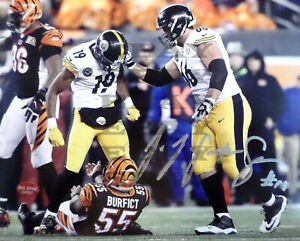 PITTSBURGH STEELERS JUJU SMITH SCHUSTER Signed 8x10 autographed photo Reprint