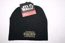 Star Wars The Force Awakens Beanie Knit Cap Black