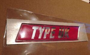 Subaru impreza Blobeye Widetrack WRX STI Type UK rear badge 100% genuine OEM