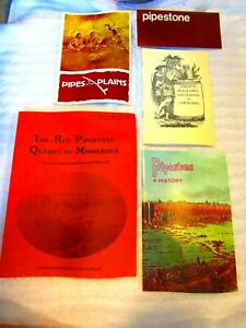 Lot 5 RED PIPESTONE QUARRY OF MINNESOTA History Pipes of the Plains Pipemaking