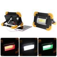 30W COB LED Arbeitsleuchte USB Aufladbar Handlampe Campinglampe Flutlicht 400LM