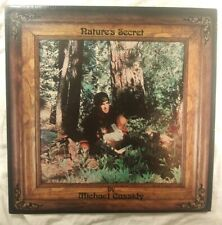 MICHAEL CASSIDY, Nature's Secret 1977 VINYL LP (EX) COVER (VG+) psychedelic folk