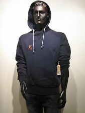 REPLAY sudore di Hood Pullover con cappuccio taglia M BLU USA LOS ANGELES NUOVO