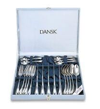 New 20pcs DANSK TORUN Cutlery Knives Forks Spoons Flatware Set Place Setting