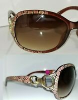 2 Pair Foster Grant LATTE Women's Designer Sunglasses 100%UV Scratch Resistant