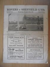 DONCASTER ROVERS v SHEFFIELD UNITED  26th Dec. 1952
