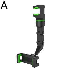 Multifunctional Mobile Phone Holder Rearview Mirror Video Phone Shooting J2K2