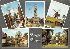 B53735 Bruges moulin a vent wind mill multi vues belgium