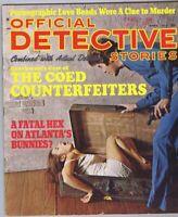 ORIGINAL Vintage April 1970 Official Detective Stories Magazine GGA