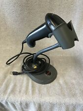 Honeywell 1300G-2 Handheld USB Barcode Scanner Hyperion with Base - TESTED!