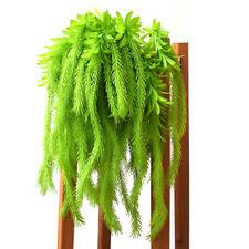 Faux Plants Vines Ferns Persian Rattan Hanging Plant Wedding Garland Decor #HD3